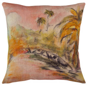 Genevieve Levy Lune Rose Cushion 55cm (available to order)