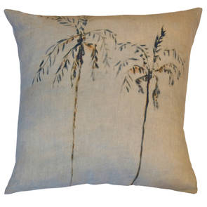 Genevieve Levy Palmiers Catarata Cushion 55cm (available to pre-order)