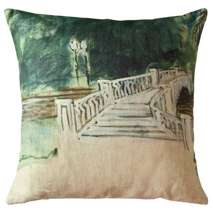 Genevieve Levy Puento de Palmero Cushion 55cm (available to order)