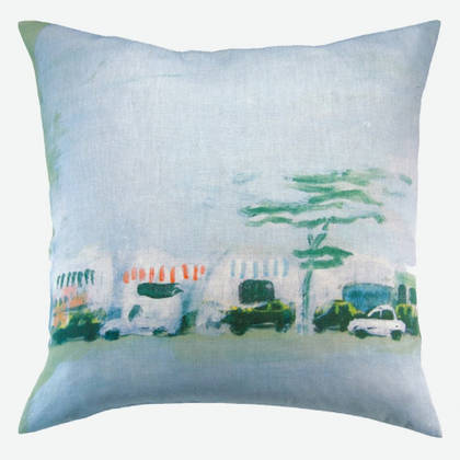 Genevieve Levy Horizon Urbain Cushion 55cm (available to order)