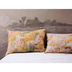 Genevieve Levy Jaune Pillowcase - set of 2 (available to pre-order)