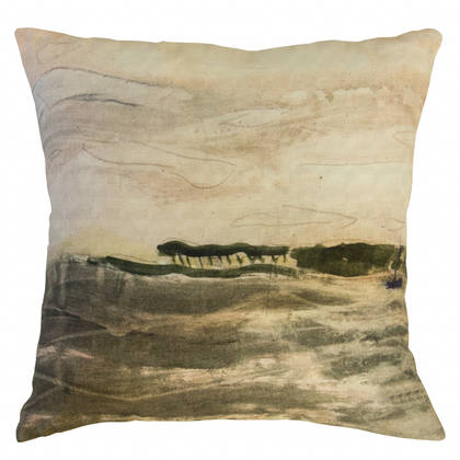 Genevieve Levy Ile au Bateau Cushion 55cm (available to order)