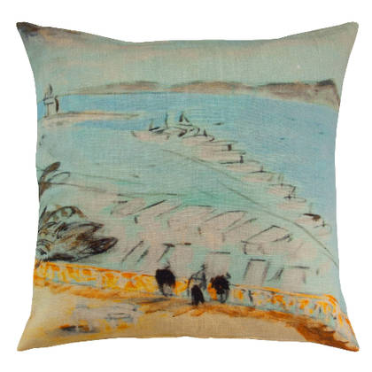 Genevieve Levy Vista al Mar Cushion 55cm (available to order)