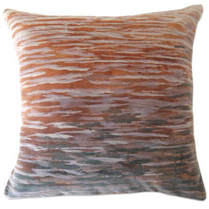 Genevieve Levy Caida Agua Cushion 55cm (available to order)