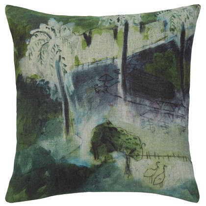 Genevieve Levy Echassiers Cushion 55cm (available to order)