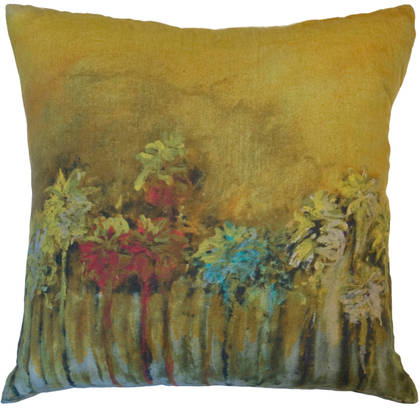 Genevieve Levy Palmiers Pop Cushion 55cm (available to order)