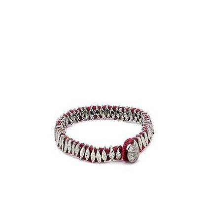 Bracelet Chamak - silver terracotta (out of stock)