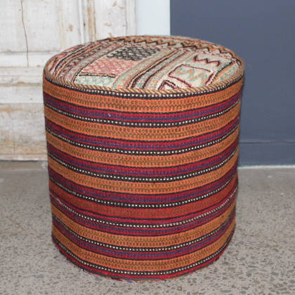 Persian Kilim Foot Stool (F17)