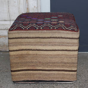 Persian Kilim Foot Stool (F34)