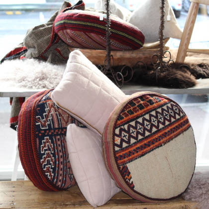 Persian Kilim Rug Cushion (C51)