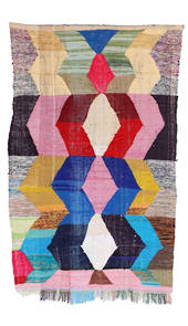Kilim Boucherouite rug - No. 841 (148 x 250) - Sorry Sold