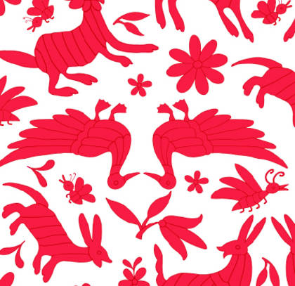 Kitsch Kitchen Oilcloth (140cm wide) - Animales