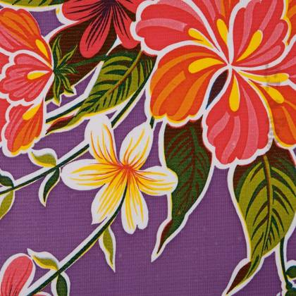 Kitsch Kitchen Oilcloth - Fortin Purple (out of stock)