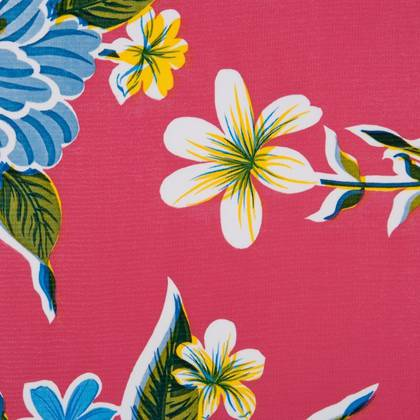 Kitsch Kitchen Oilcloth - Fortin Pink (out of stock)
