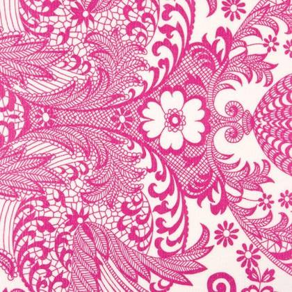 Kitsch Kitchen Oilcloth - Paraiso Rose (available to order)