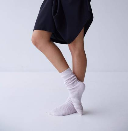Laing Henry Cashmere Sleep Socks - available in 4 colours