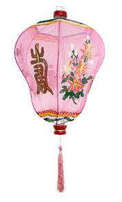 Chinese Lantern in Pink - Large