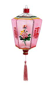 Chinese Lantern in Pink - Small