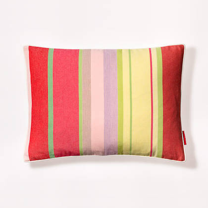 Ceret Cerise French Stripe Cushion 30x40cm