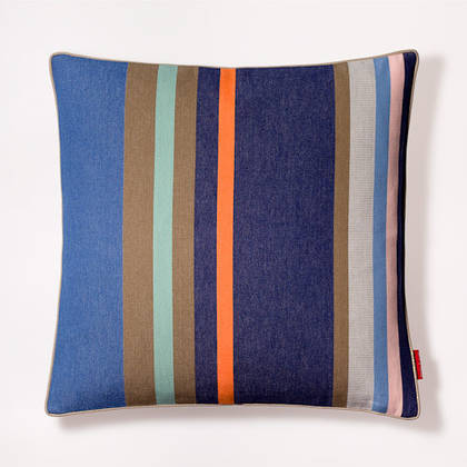 Cushion French Stripe Collioure Roy 50cm