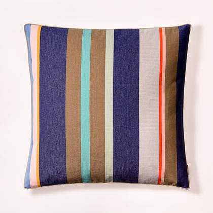 Cushion French Stripe Collioure Roy 60cm