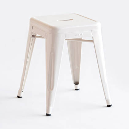 Tolix 45cm Stool - 4 colours in stock or order from over 50 colours