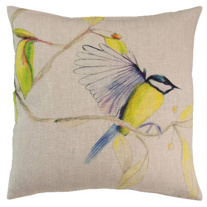 Genevieve Levy Mesange Cushion 55cm (available to order)