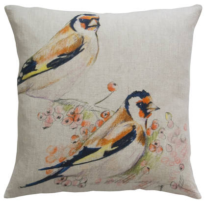 Genevieve Levy Romeo & Juliet Natural Cushion 55cm (available to order)