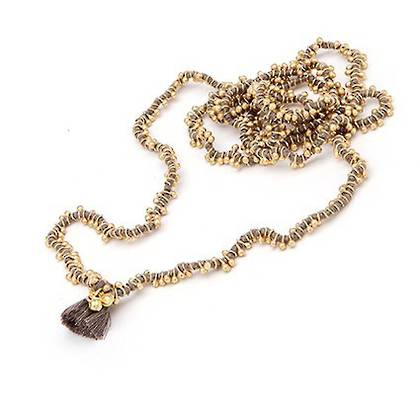 Necklace Shaanti - gold grey (sold out)