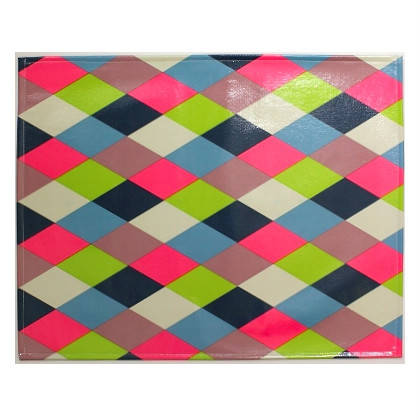 Oilcloth Placemats - set of 4 - Harlequin (out of stock)