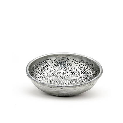 Oriental Bowl 17cm diamater. Handmade in India