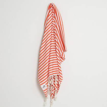 Turkish Towel  St Tropez Coral (sold out)