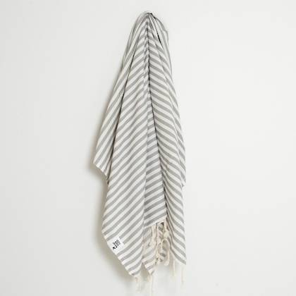 Turkish Towel  St Tropez Grey (sold out)