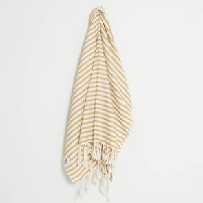Turkish Towel  St Tropez Mustard