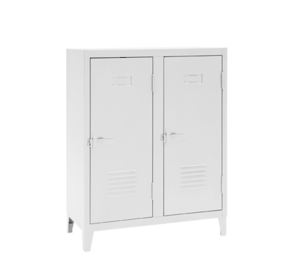 Tolix Low Locker (White in stock or other colours available to order)