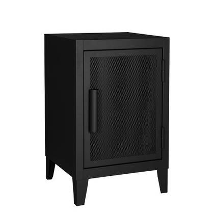 Tolix Bedside Cabinet 64cm in matt black (available to order)