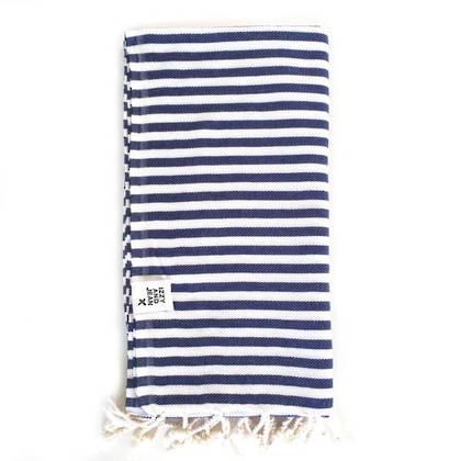 Turkish Towel  St Tropez - Navy