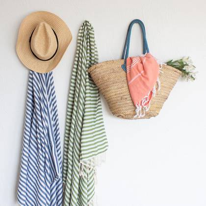Turkish Towel  St Tropez Denim (sold out)