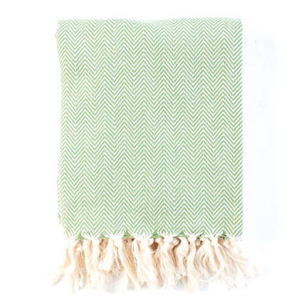 Turkish Towel  Hamptons - Olive (sold out)