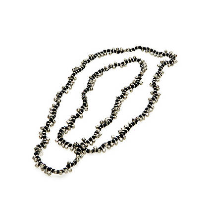 Necklace Patra - silver black (out of stock)