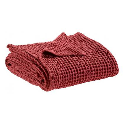 Portuguese Cotton Throw - Red