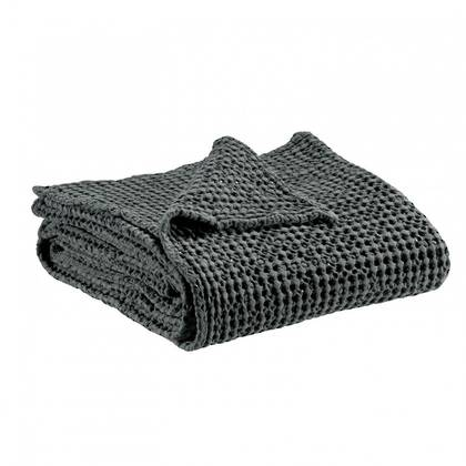 Portuguese Cotton Throw - Dark Grey (sold out)