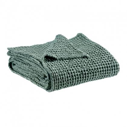 Portuguese Cotton Throw - Vert de gris